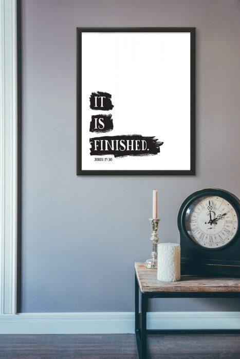 It is finished - John 19:30