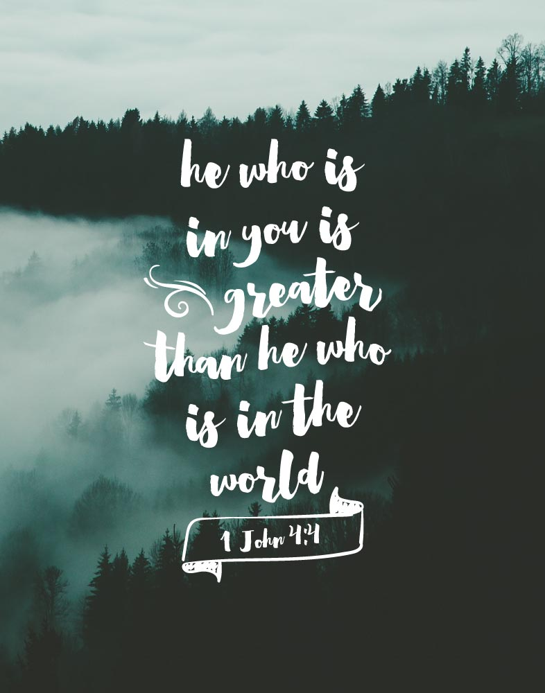 He Who Is In You Is Greater 1 John 4 4 Seeds Of Faith He is greater than i. he who is in you is greater 1 john 4 4