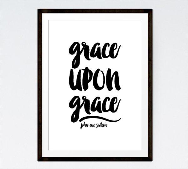 Grace upon grace - John 1:16