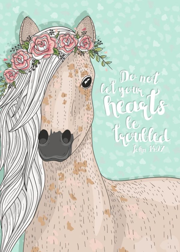 Do not let your hearts be troubled - John 14:27