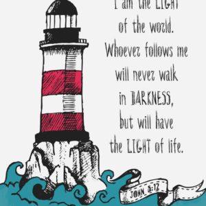I am the light of the world - John 8:12