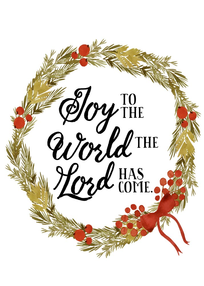 Joy to the world the Lord has come – Seeds of Faith