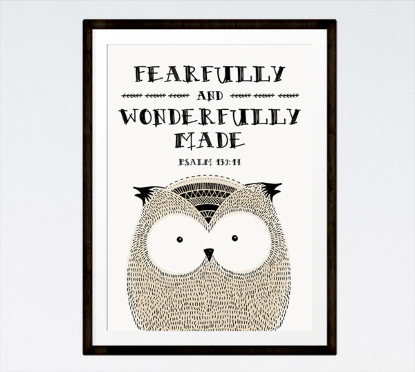 Fearfully and wonderfully made - Psalm 139:14