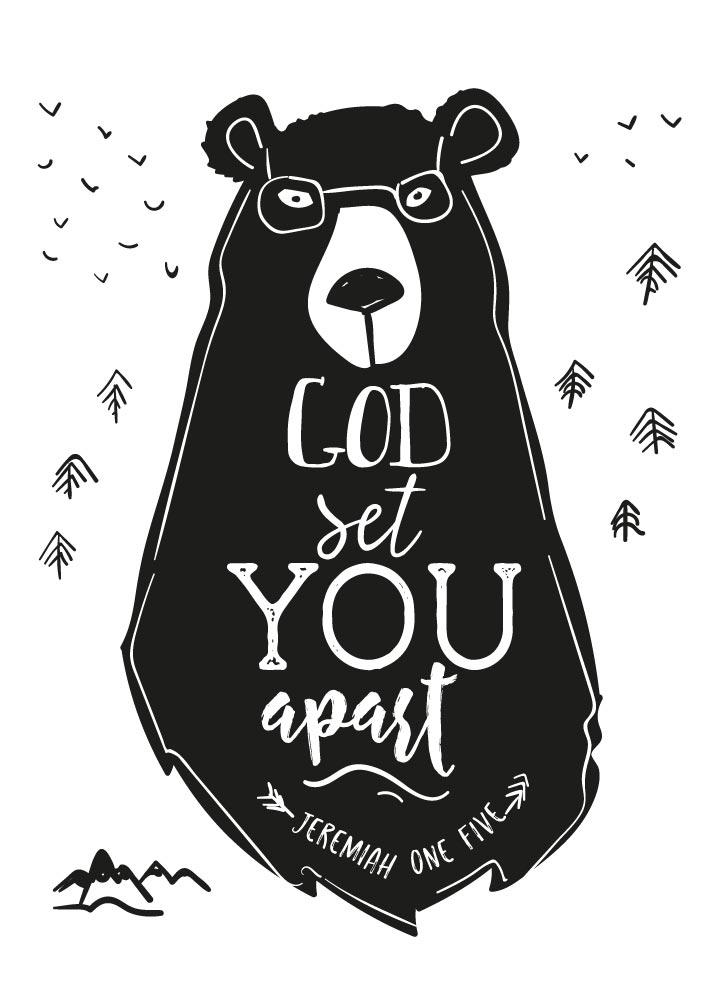 God set you apart - Jeremiah 1:5