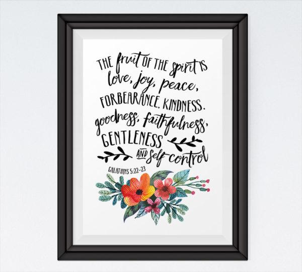 The Fruit of the Spirit - Galatians 5:22-23