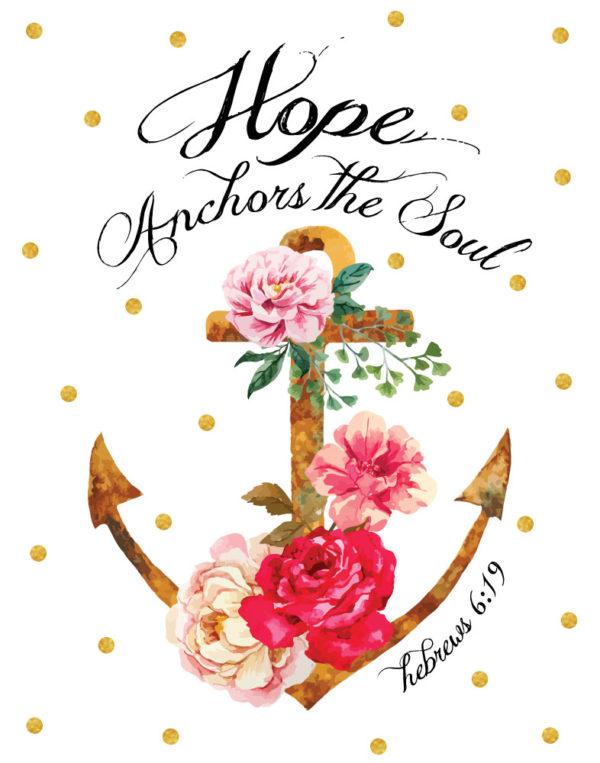 Hope Anchors The Soul – Hebrews 6:19