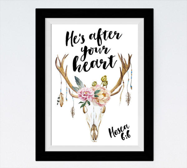 He's after your heart - Hosea 6:6