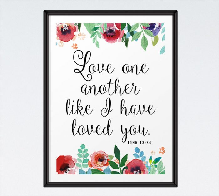 Love one another - John 13:34