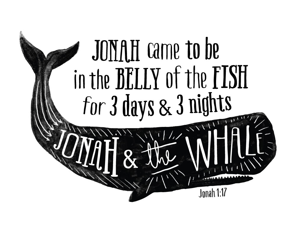 Jonah and the Whale - Jonah 1:17