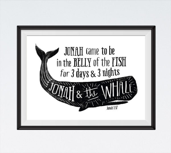 Jonah and the Whale - Jonah 1:17