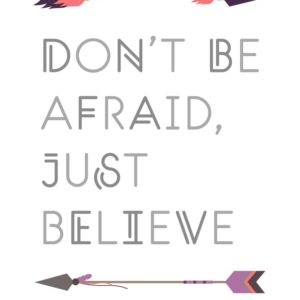 Don't be afraid, just believe - Mark 5:36