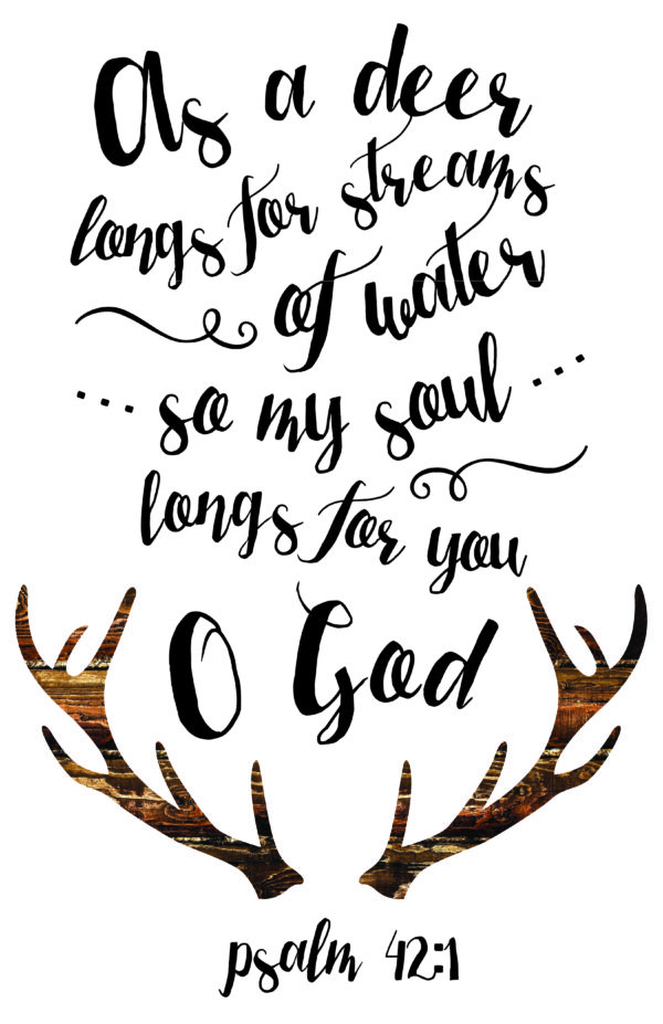 My Soul Longs For You – Psalm 42:1