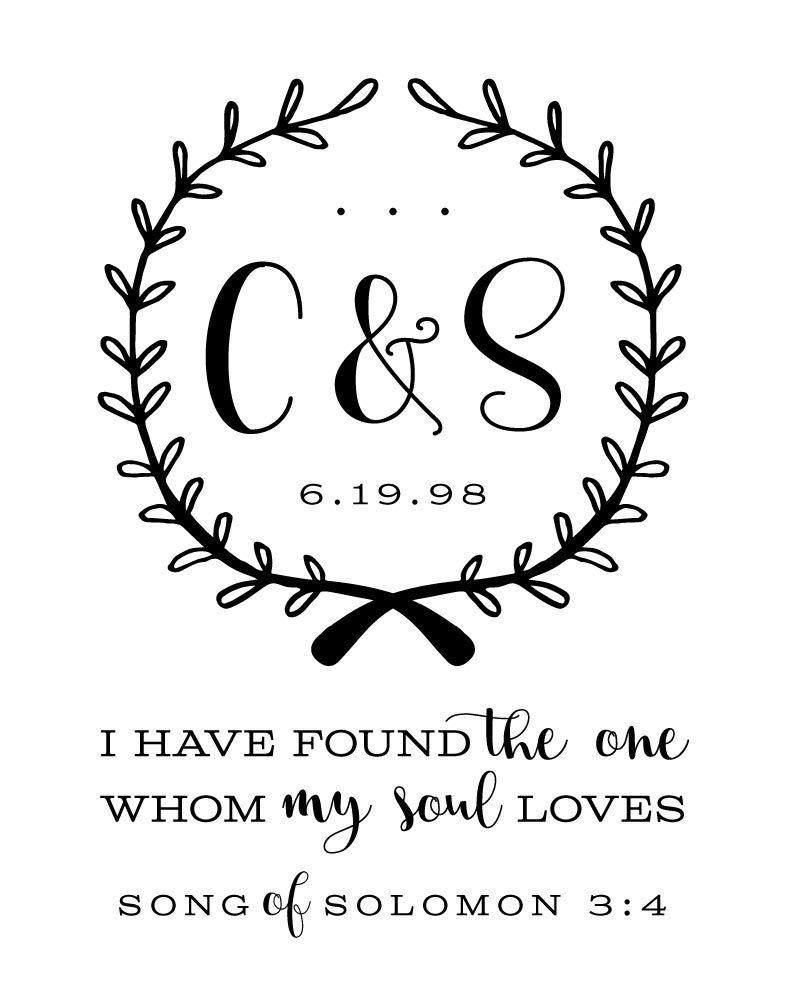 I have found the one whom my soul loves - Songs of Solomon 3:4