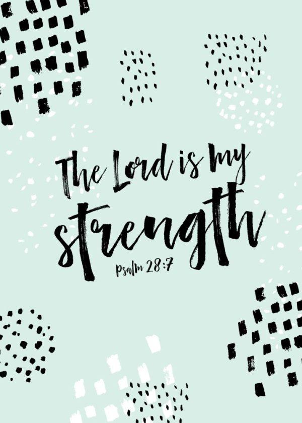 SOF Psalm 28:7